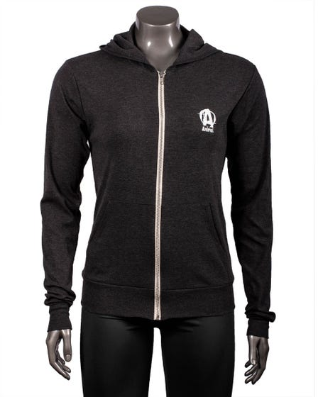 Bring The Pain Lightweight Charcoal Hoodie